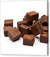 Chocolate Brownies Canvas Print