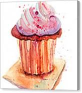 Chocolate Cake Canvas Print