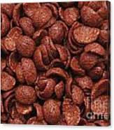 Chocolate Cereals Canvas Print