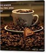 Chocolate Coffee Canvas Print