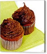 Chocolate Cupcakes Canvas Print