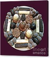 Chocolate Mandala Canvas Print