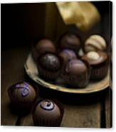 Chocolate Pralines Canvas Print