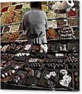 Chocolate Shop Canvas Print