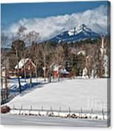 Chocorua - Where The Mountain Meets The Town Canvas Print