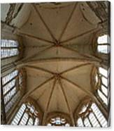 Choir Vault St Thibault Canvas Print