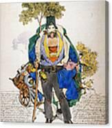 Cholera Protection, 1831 Canvas Print