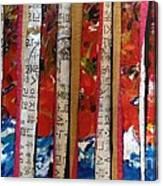 Chop Sticks Canvas Print