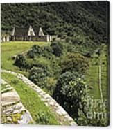 Choquequirao Inca Terraces Canvas Print