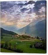 Chosen Village Canvas Print