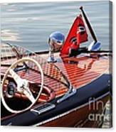 Chris Craft Deluxe Runabout Canvas Print