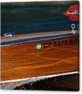 Chris Craft Raceabout Canvas Print
