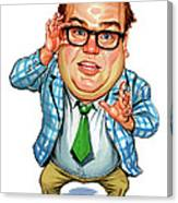 Chris Farley As Matt Foley Canvas Print