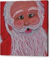Chris Kringle Canvas Print