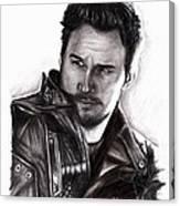 Chris Pratt 2 Canvas Print