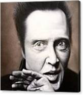 Chris Walken Canvas Print