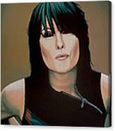 Chrissie Hynde Painting Canvas Print