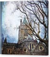 Christ Church Cathedral Dublin Canvas Print