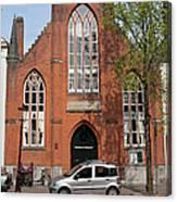 Christ Church Of England In Amsterdam Canvas Print