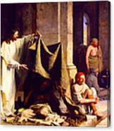 Christ Healing The Sick  Canvas Print