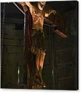 Christ Of Salardu Canvas Print