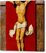 Christ On The Cross Canvas Print