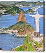 Christ The Redeemer Canvas Print