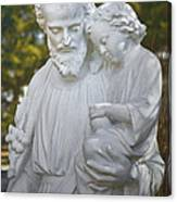Christ With Child Canvas Print