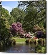 Christchurch Botanic Gardens New Zealand Canvas Print