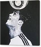 Christiano Ronaldo - Real Madrid Fc Canvas Print