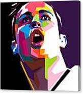 Christiano Ronaldo Canvas Print