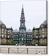 Christiansborg Slot Canvas Print