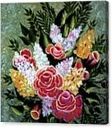 Christina's Bouquet Canvas Print