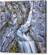 Christine Falls In Mount Rainier National Park Canvas Print