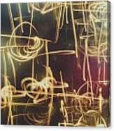 Christmas Abstract V Canvas Print