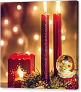 Christmas Ambiance Canvas Print