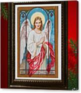 Christmas Angel Art Prints Or Cards Canvas Print