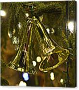 Christmas Bells Ornaments Faneuil Hall Tree Boston Canvas Print