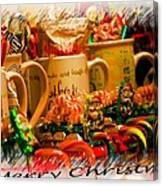 Christmas Candies Canvas Print