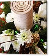 Christmas Candle 1 Canvas Print