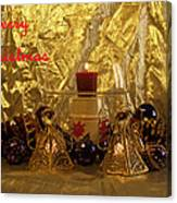 Christmas Candles Canvas Print
