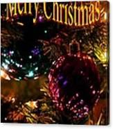 Christmas Card 3 Canvas Print