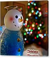 Christmas Card II Canvas Print