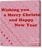 Christmas Cards And Artwork Christmas Wishes 10 Canvas Print