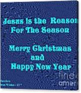 Christmas Cards And Artwork Christmas Wishes 13 Canvas Print