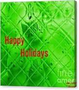 Christmas Cards And Artwork Christmas Wishes 9 Canvas Print