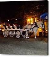 Christmas Carriage Canvas Print