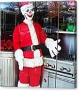 Christmas Clown Canvas Print