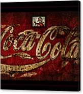 Christmas Coca Cola 1881 Santa Canvas Print