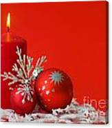 Christmas Decoration Background Canvas Print